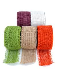 colored burlap ribbon burlap ribbon wide color