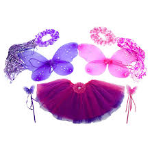 Fairy Princess Halloween Costume Amazon 7pc Pink U0026 Purple Fairy Princess Costumes