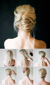easy sexy updos for shoulder length hair last minute party frisur hochsteckfrisuren anleitung easy