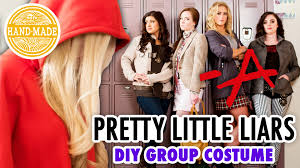 diy halloween costume 2017 pretty little liars diy halloween costume hgtv handmade youtube