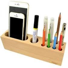 Pen Organizer For Desk Star Multipurpose Wood Pen Stand 10 Slots Desk Organizer For