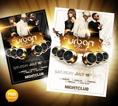 20 best free psd party club flyer templates download