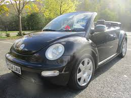 convertible volkswagen beetle used used 2004 volkswagen beetle 1 6 s cabriolet for sale in porth mid