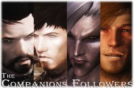 best hair mod for skyrim the companions followers for male replacer by kerwin1988 at skyrim