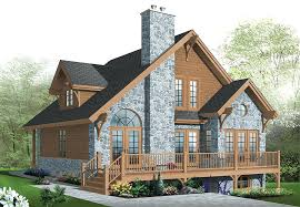 chalet building plans panoramic view house plans chalet home design with 3 bedrooms and