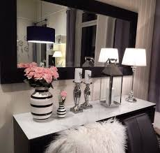 pink and black home decor chic black and white with a hint of pink my favorite my home