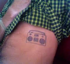 boom box tattoo david from san diego u2014 marc johns