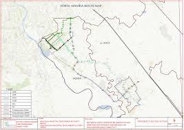 Map Route Route Chart Of City Bus Noida Metro Rail Corporation Ltd