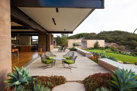Patio House Cool Concrete Patio Designs And The Houses They Complement