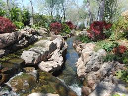 Rock Water Features For The Garden by Dallas Blooms At The Dallas Arboretum And Botanical Gardens