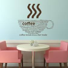 coffee types kitchen cafe wall decals wall art stickers transfers coffee types kitchen cafe wall decals wall art stickers transfers