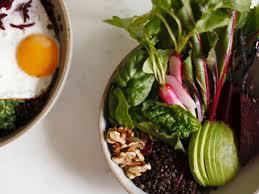 brain food bowl with a coconut fried egg recipe christina liva