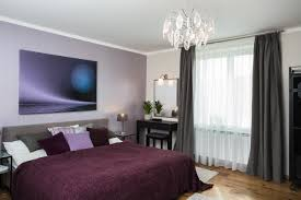 bedroom gray curtain with white sheer and makeup table also glass