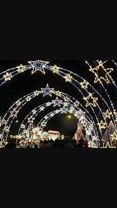 holla hoops with string lights and christmas ornaments would be