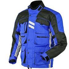 blue motorcycle jacket juicy trendz motorcycle motorbike biker cordura waterproof textile