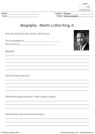 biography for martin luther king primaryleap co uk biography martin luther king jr worksheet