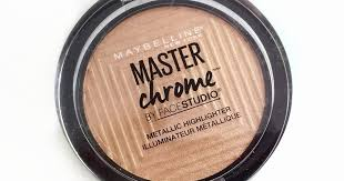 Maybelline Master Chrome maybelline master chrome highlighter review swatches and