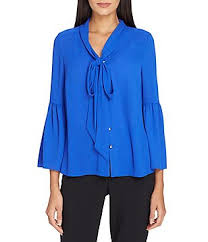 royal blue blouse top royal blue s casual dressy tops blouses dillards com