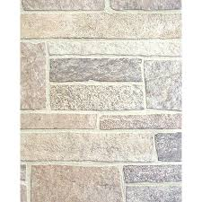 shop 47 75 in x 7 98 ft embossed canyon stone hardboard wall panel