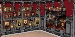 haunted library scene setter kit halloween scene setters