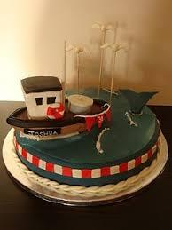 10 best boat cake images on pinterest boat cake fishing boats