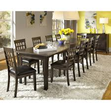 a america bristol point rectangular extension dining table warm