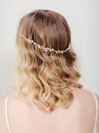 hair wreath and pearl bridal headband dione headband davie chiyo