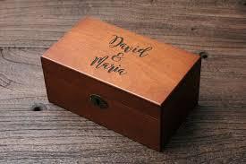 personalized s box custom wood box calligraphy