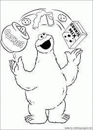 cookie monster coloring pages printable 1 gif 569 796 cookie