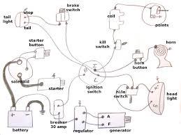 simple harley generator wiring diagram u2013 motorcycle parts only