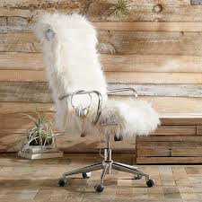 faux fur desk chair faux fur desk chair