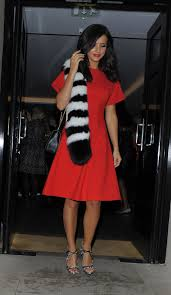 lucy mecklenburgh leaves haymarket hotel in london 09 21 2015