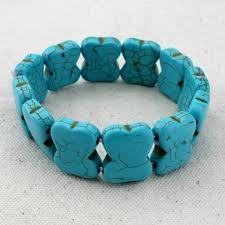turquoise bead bracelet images Retro bohemian turquoise bead bracelet stuff and things direct jpg