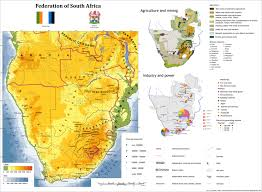 South Africa Maps by Federation Of South Africa Alternate History Map By Jeremak J On