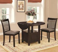 stockton 3 piece dining set with table storage coaster 105391 105392