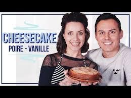 cheesecake hervé cuisine cheesecake vegan poire vanille avec hervé cuisine coline