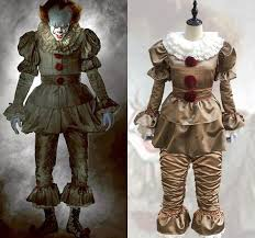 Scary Clown Halloween Costumes Adults Buy Wholesale Scary Clown Costume China