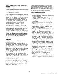 bmw 330ci maintenance schedule bmw 3 series 2004 e46 service and warranty information