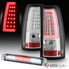 fiber optic tail lights for 99 02 silverado sierra fiber optic tail lights 3rd brake led