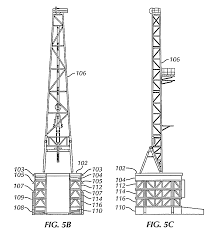 patent us8555564 drilling rig assembly method and apparatus