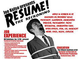 Example Of Creative Resume by Insanely Cool Resumes That Landed Interviews At Examples Of
