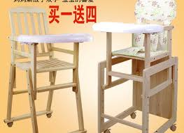 Toddler High Chairs Vintage Carved Wooden Baby High Chair Solid Wood Toddler Highchair