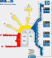 miami airport terminal map miami international airport maplets