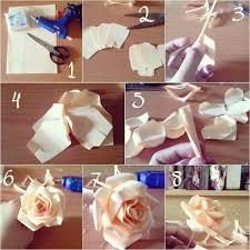 cara membuat bunga dengan kertas hias diy membuat beberapa jenis bunga mawar dari kertas do it yourself