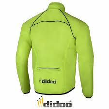 mens mtb jacket mens cycling jacket high visibility waterproof running top rain