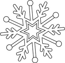 coloriage flocon de neige  Recherche Google  COLORIAGE  Pinterest