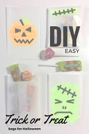 halloween treat bag craft diy trick or treat bags for halloween crafty october day 2 the