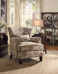 Oversized Accent Chairs Amazon Com Homelegance Nicolo Wing Back Accent Chair With Pillow