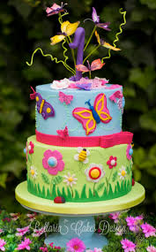 butterflies garden birthday cake butterflies garden themed cake