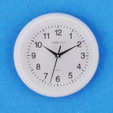 t8452 white wall clock online dolls house superstore